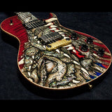 2003 PRS DRAGON 2002 SINGLECUT #41 RED - Garrett Park Guitars  - 5