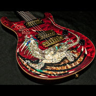 2000 PRS DRAGON 2000 #15 QUILT RED - Garrett Park Guitars  - 5