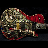 2003 PRS DRAGON 2002 SINGLECUT #41 RED - Garrett Park Guitars  - 6