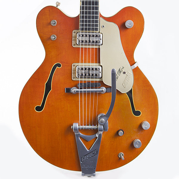 1965 Gretsch 6120 Chet Atkins Western Orange - Garrett Park Guitars  - 2