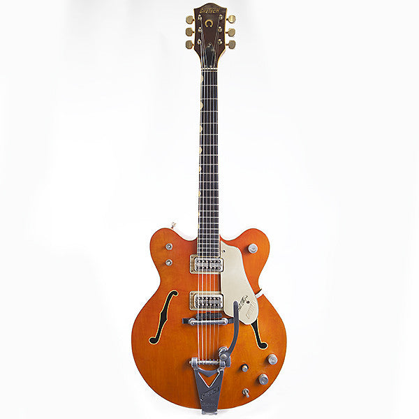 1965 Gretsch 6120 Chet Atkins Western Orange - Garrett Park Guitars  - 7