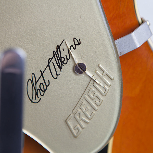 1965 Gretsch 6120 Chet Atkins Western Orange - Garrett Park Guitars  - 4
