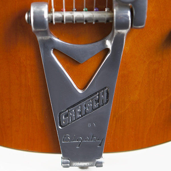 1965 Gretsch 6120 Chet Atkins Western Orange - Garrett Park Guitars  - 5