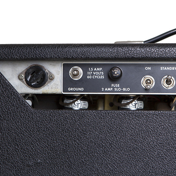 1966 Fender Super Reverb - Garrett Park Guitars  - 11