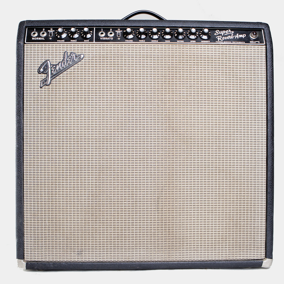 1966 Fender Super Reverb - Garrett Park Guitars  - 3