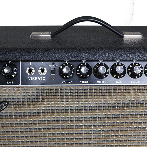 1966 Fender Super Reverb - Garrett Park Guitars  - 6