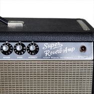 1966 Fender Super Reverb - Garrett Park Guitars  - 7