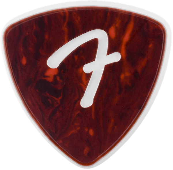 Fender F Grip 346 Guitar Picks Three Pack  (1.5mm)