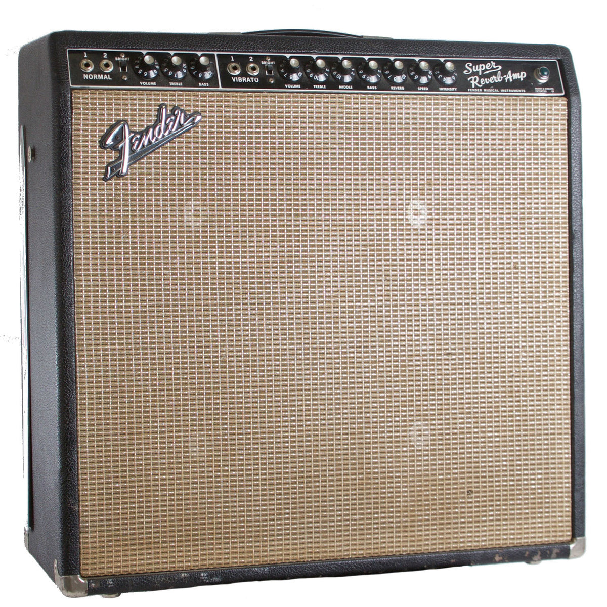 1966 Fender Super Reverb - Garrett Park Guitars  - 1