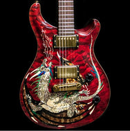 2000 PRS DRAGON 2000 #15 QUILT RED - Garrett Park Guitars  - 3