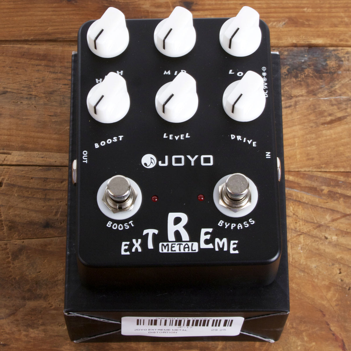 Joyo Extreme Metal Distortion - Garrett Park Guitars