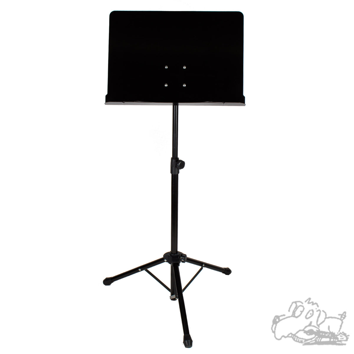 Heavy Duty Fully Adjustable Black Sheet Music Stand