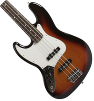 2015 Fender Standard Jazz Bass Lefty Sunburst - Garrett Park Guitars  - 1