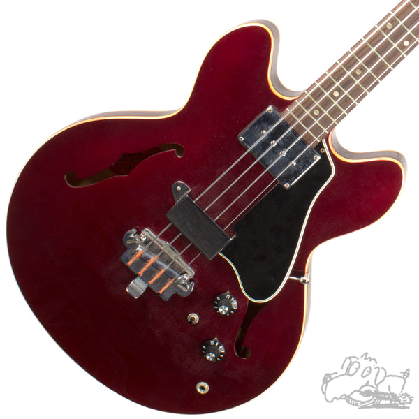 1966 Sparkling Burgandy Gibson EB-2 Electric Bass Guitar