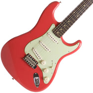 2015 Fender Custom Shop Rocking Dog '62 Stratocaster Fiesta Red - Garrett Park Guitars  - 1