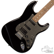 Used Squier Affinity HSS Stratocaster - Black with Sparkle Pickguard