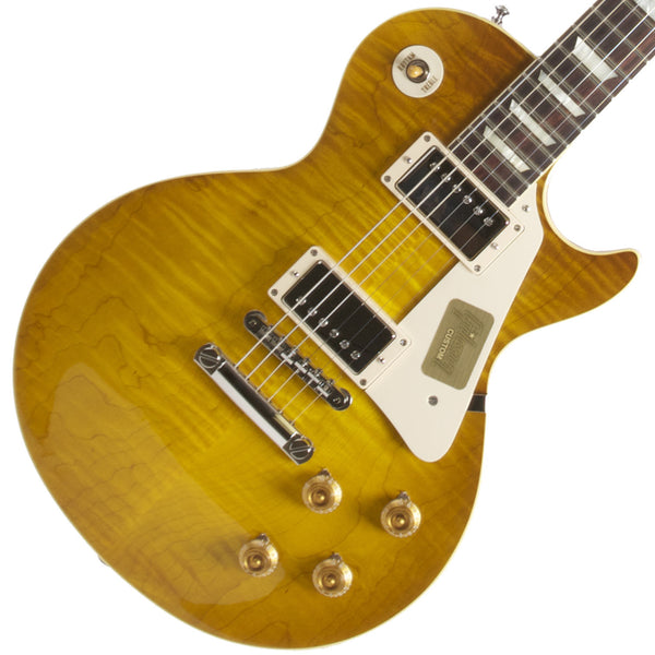 2014 Gibson Les Paul R9 Lemon Burst - Garrett Park Guitars  - 1