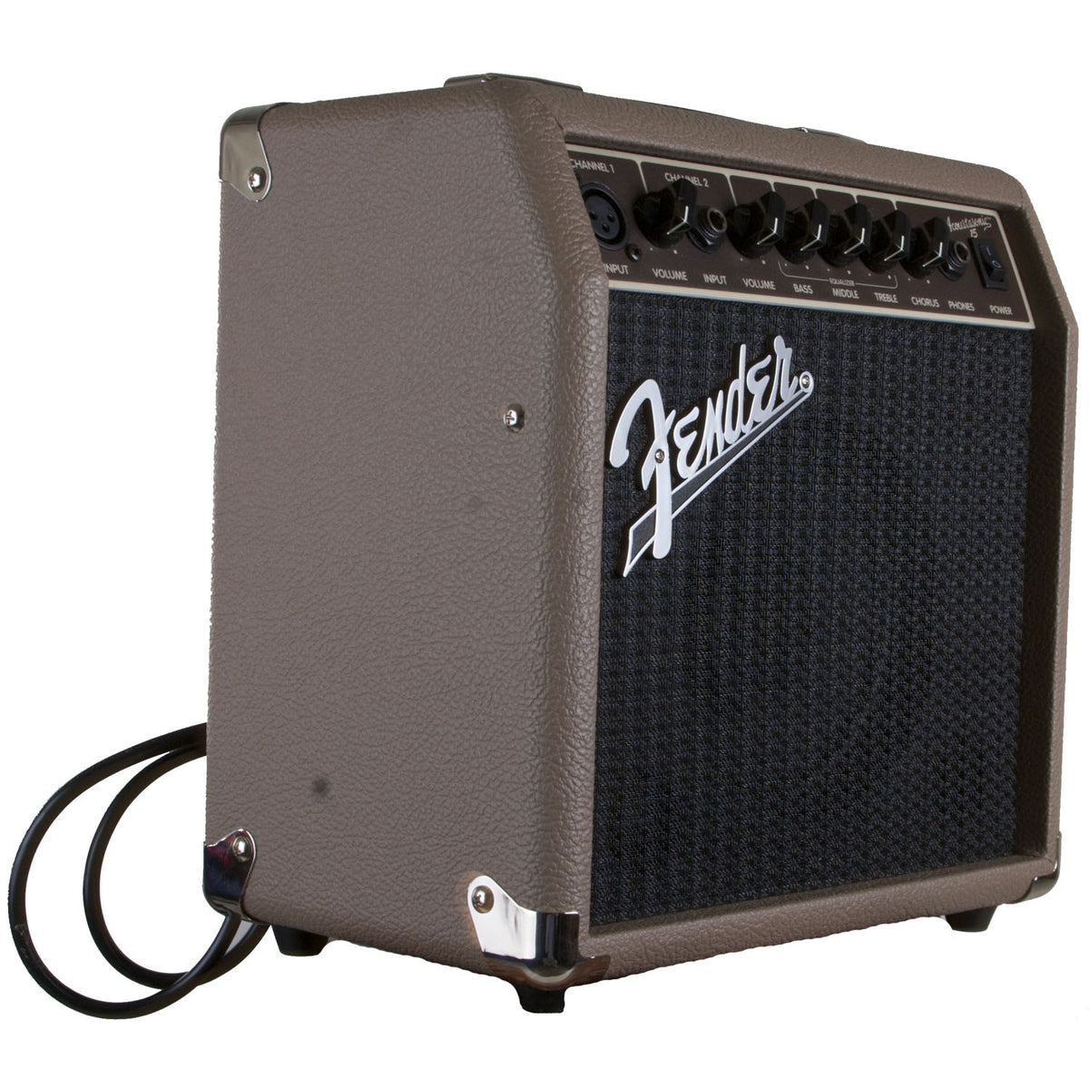 Fender Amp Acoustasonic 15 Brown 15W 1x6 - Garrett Park Guitars  - 1