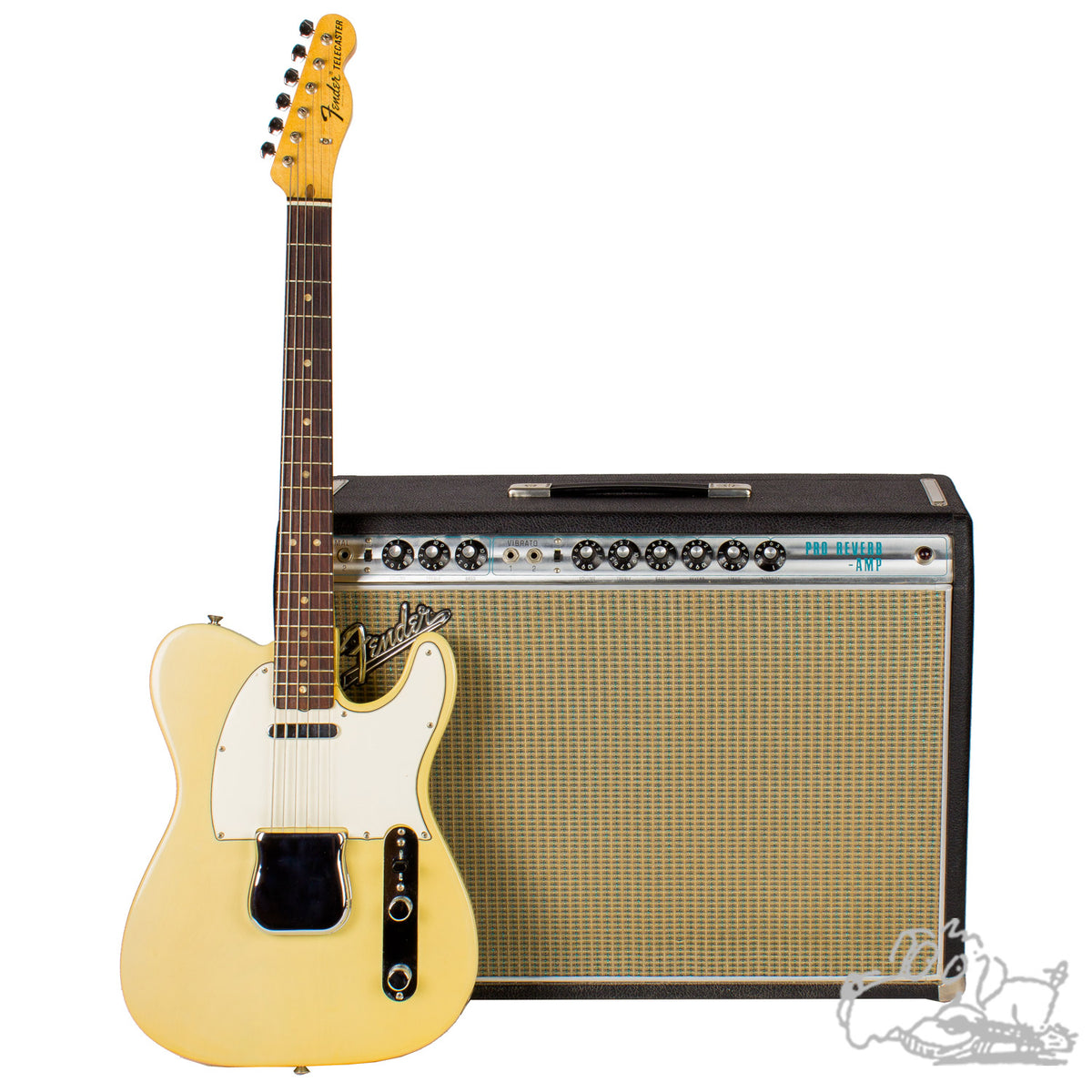 1969 Fender Telecaster And 1968 Fender Pro Reverb