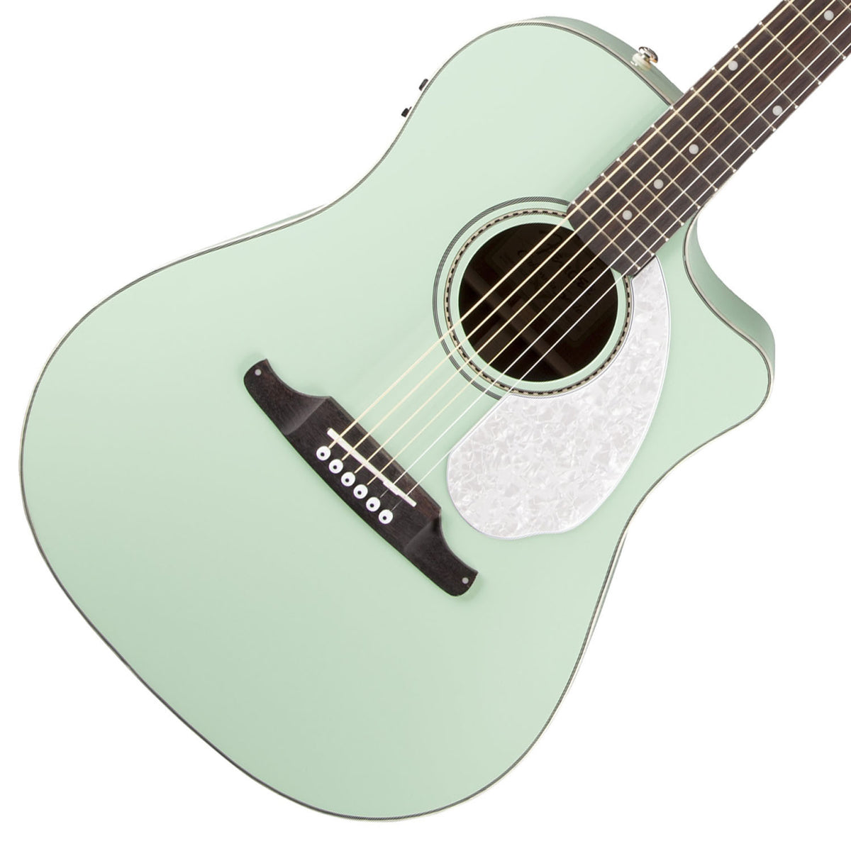 Fender Dreadnaught Surf Green - Garrett Park Guitars  - 1