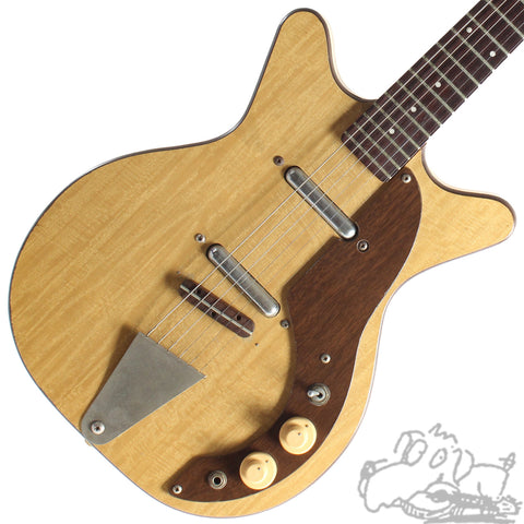 1961 Danelectro Companion Blonde, Brown Guard