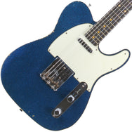 Fender Custom Shop '60 Telecaster Relic Blue Sparkle - Garrett Park Guitars  - 1