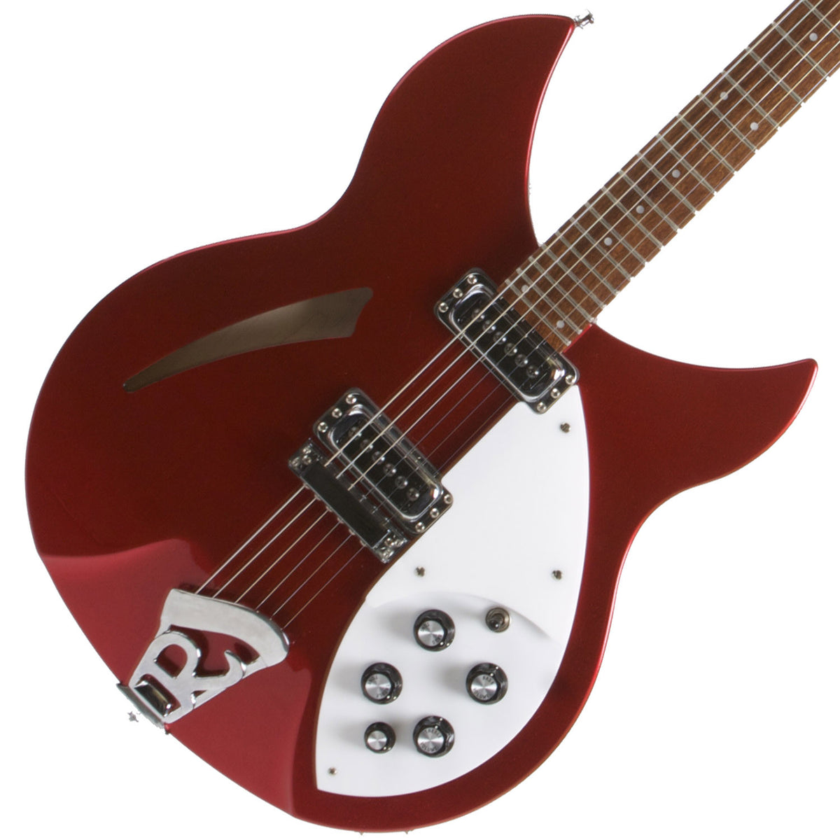 2013 Rickenbacker 330 Ruby Red - Garrett Park Guitars  - 1