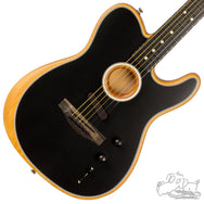 Fender Acoustasonic Telecaster - Black with Ebony Neck
