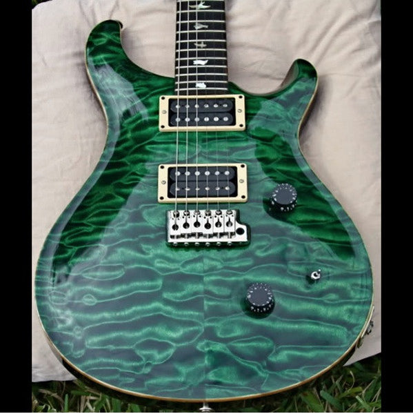 1988 PRS SIGNATURE EMERALD GREEN - Garrett Park Guitars  - 1