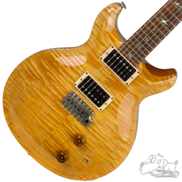 1984 PRS Pre-Factory Santana in Santana Yellow