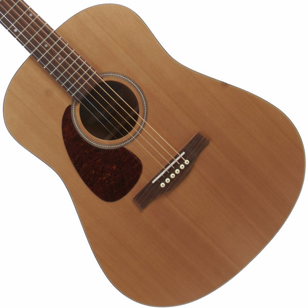 2015 Seagull S-6 Lefty Natural - Garrett Park Guitars  - 1