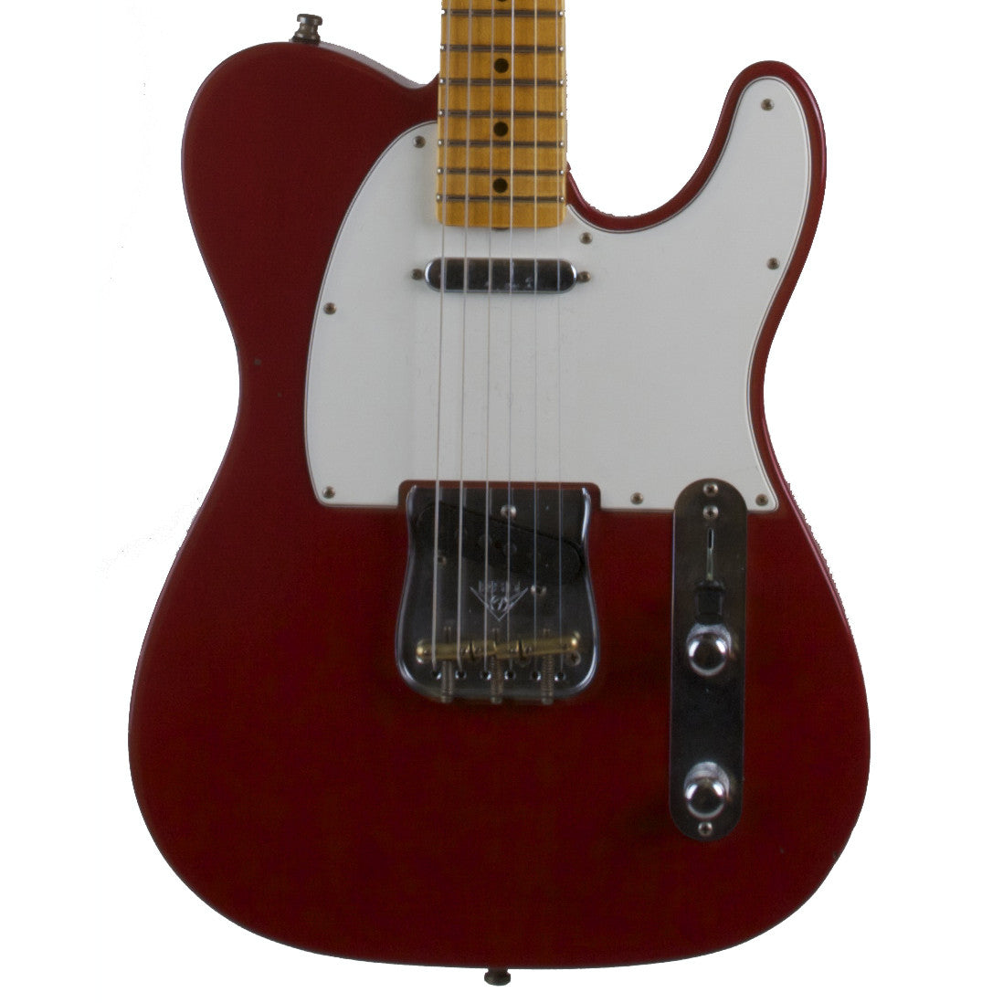 2015 Fender Custom Collection PostModern Journeyman Telecaster MN, Dakota Red - Garrett Park Guitars  - 2