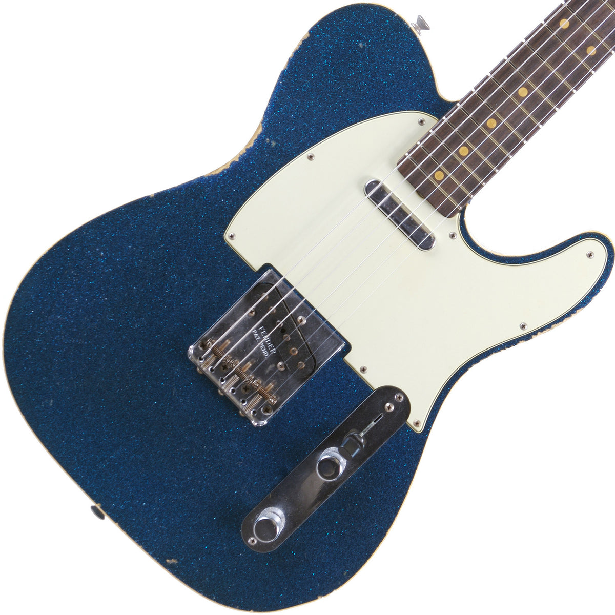 Fender Custom Shop Blue Sparkle '60 Telecaster Custom Relic - Garrett Park Guitars  - 1