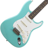 2015 Fender Custom Shop 1959 Journeyman Relic Stratocaster RW, Sea Foam Green - Garrett Park Guitars  - 1