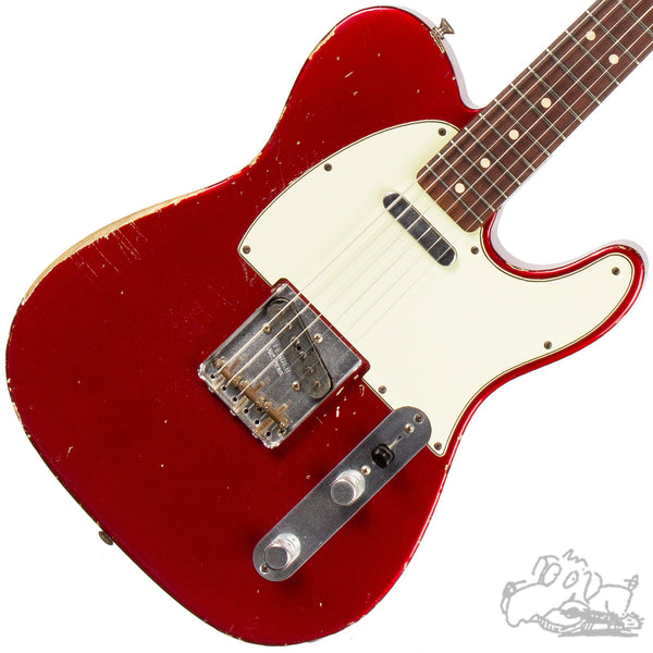 2007 Fender Custom Shop '63 Telecaster (Candy Apple Red)