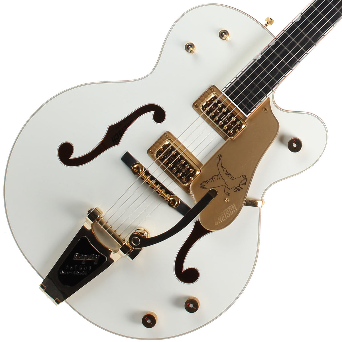 2008 Gretsch White Falcon G6136T - Garrett Park Guitars  - 1