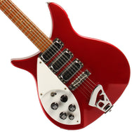 3/4 Left Handed Rickenbacker Red - Garrett Park Guitars  - 1