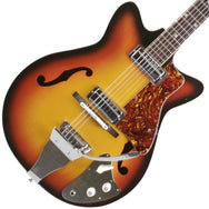 1970s Kent Semi-Hollow - Garrett Park Guitars  - 1