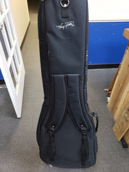 Garrett Park Guitars Embroidered Deluxe Electric Bass Guitar Nylon Soft Case Gig Bag - Markdown