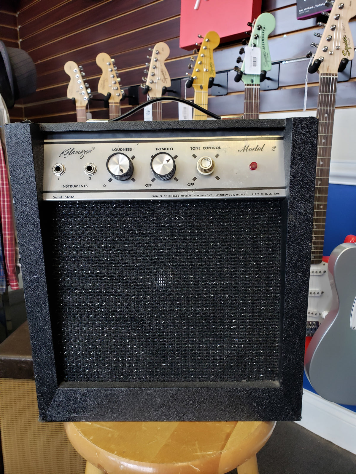 Kalamazoo Amp Model Two Solid State Model