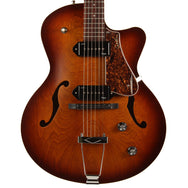 Godin 5th Avenue CW Kingpin in Cognac Burst - Garrett Park Guitars  - 2