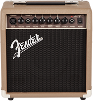 Fender Amp Acoustasonic 15 - Brown 15W 1x6 - Acoustic Guitar Amp