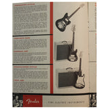 1959 Fender Catalog - Garrett Park Guitars  - 2