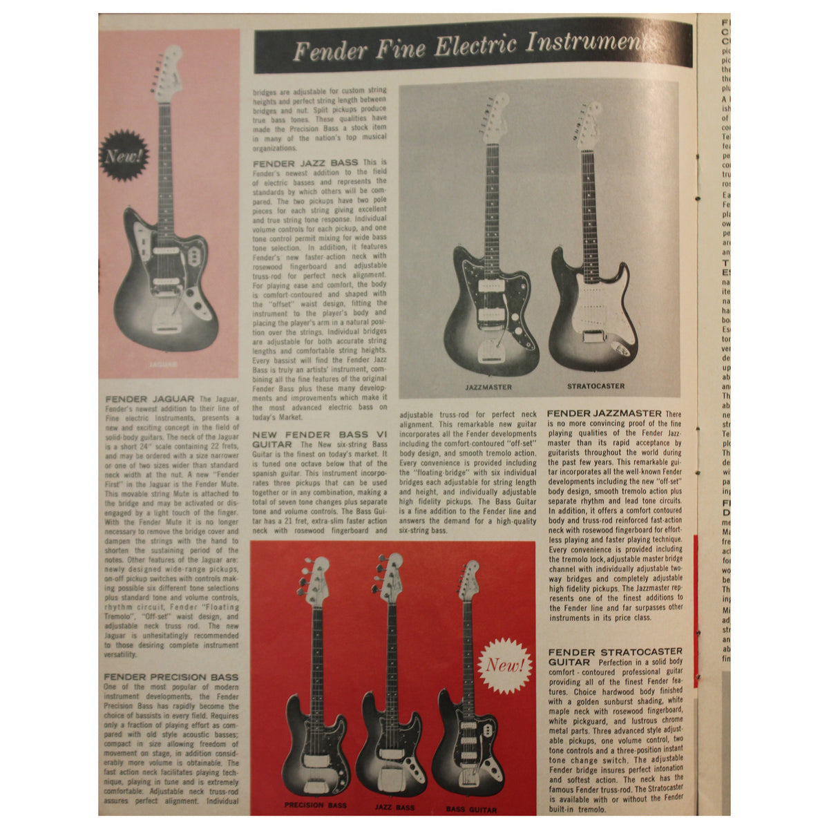 Fender Catalog Collection (1955-1966) - Garrett Park Guitars  - 58