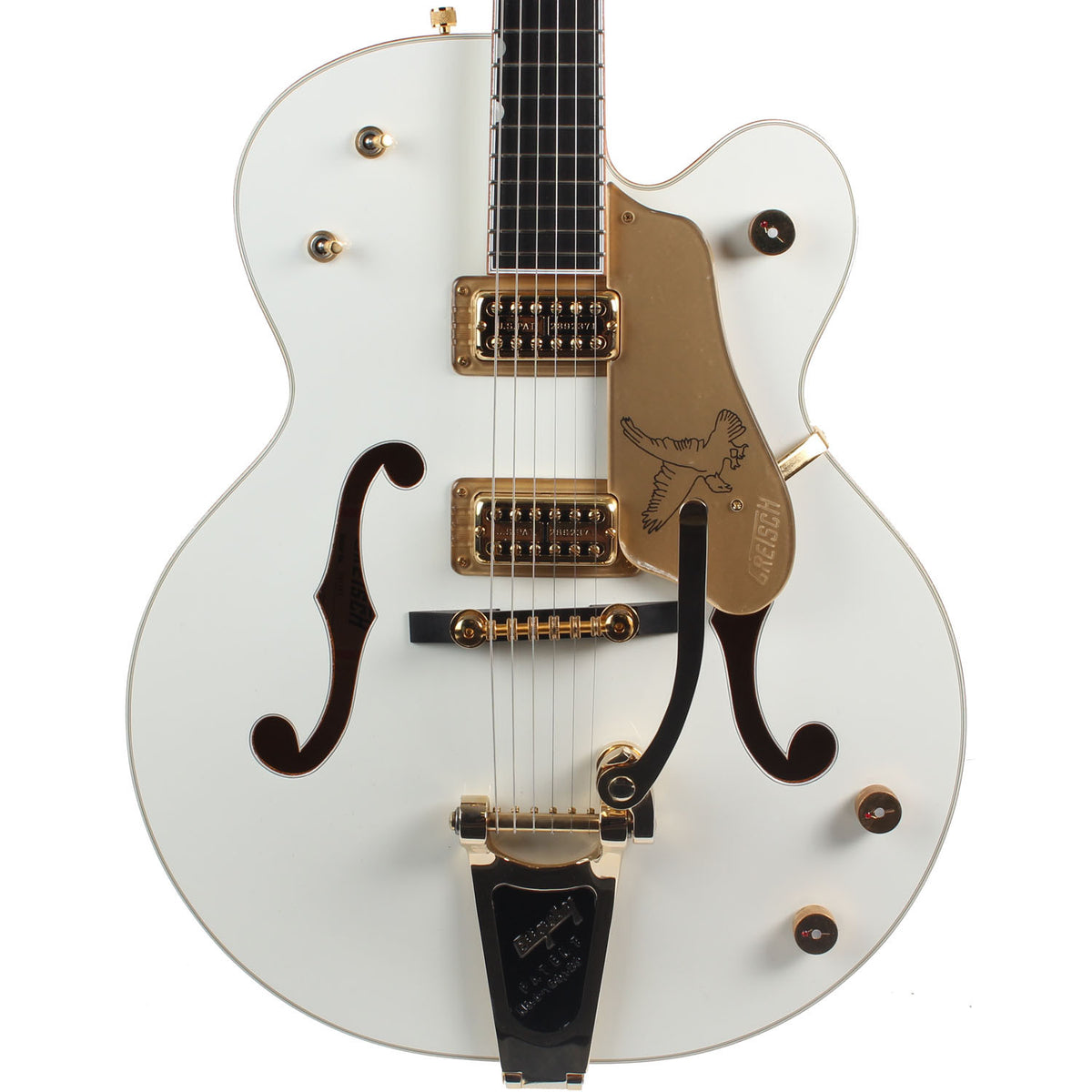 2008 Gretsch White Falcon G6136T - Garrett Park Guitars  - 2