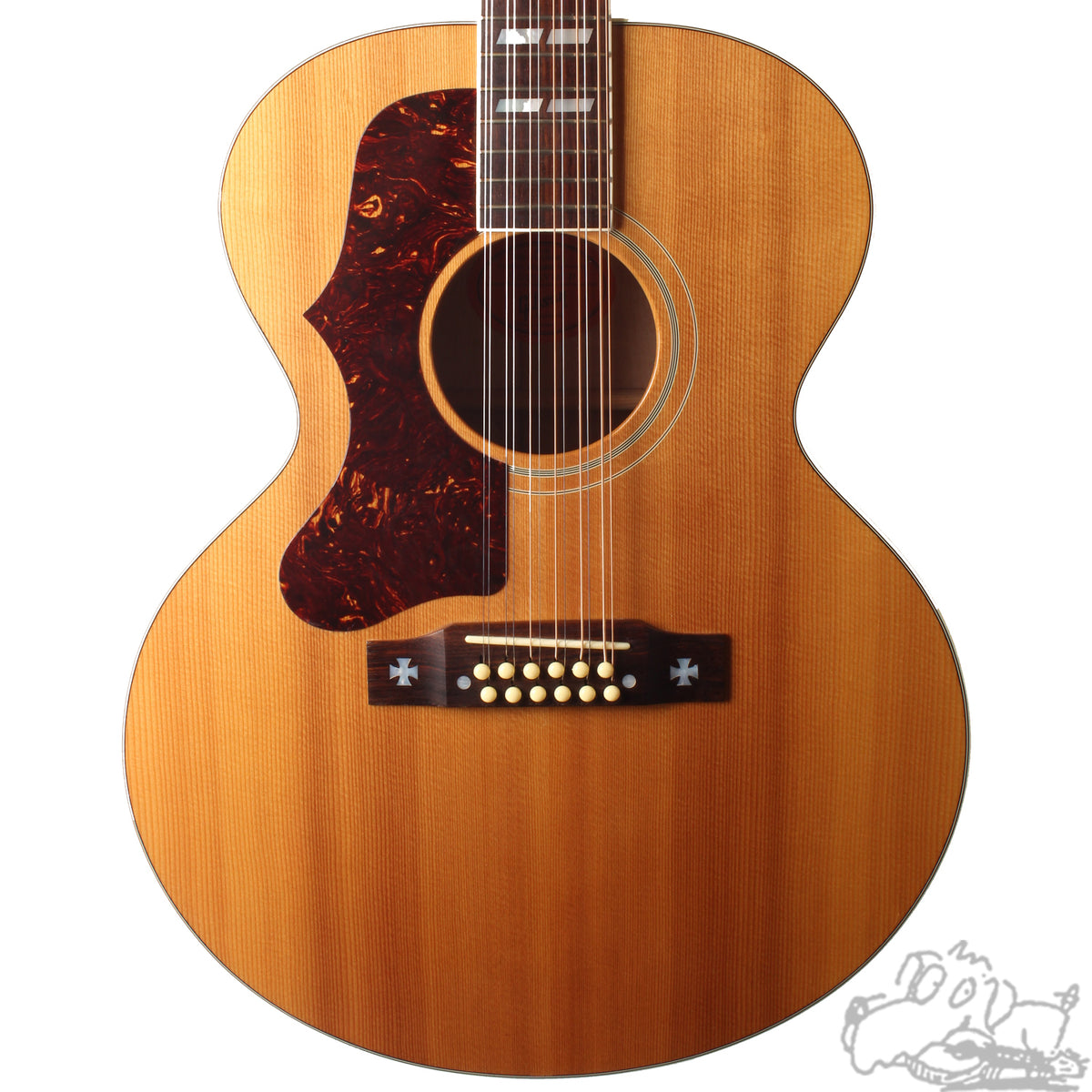 2005 Gibson J-185 12 Lefthanded