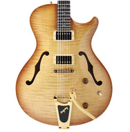 2009 PRS SCJ THINLINE WITH BIRD INLAY - Garrett Park Guitars  - 2