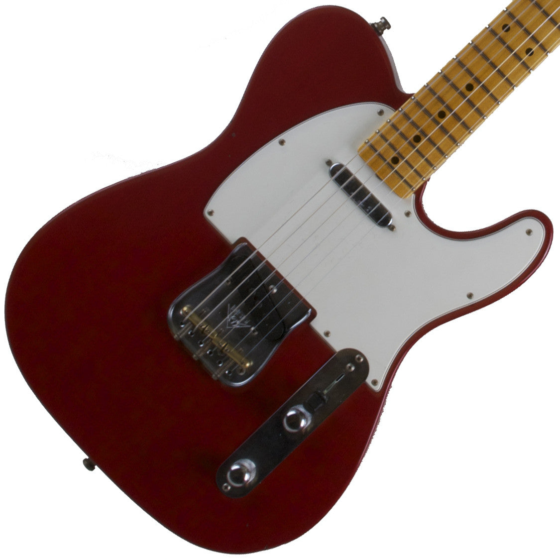 2015 Fender Custom Collection PostModern Journeyman Telecaster MN, Dakota Red - Garrett Park Guitars  - 1