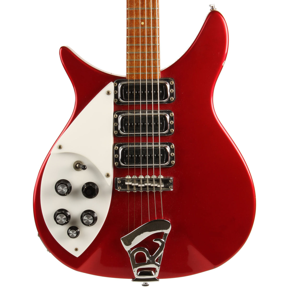 3/4 Left Handed Rickenbacker Red - Garrett Park Guitars  - 2