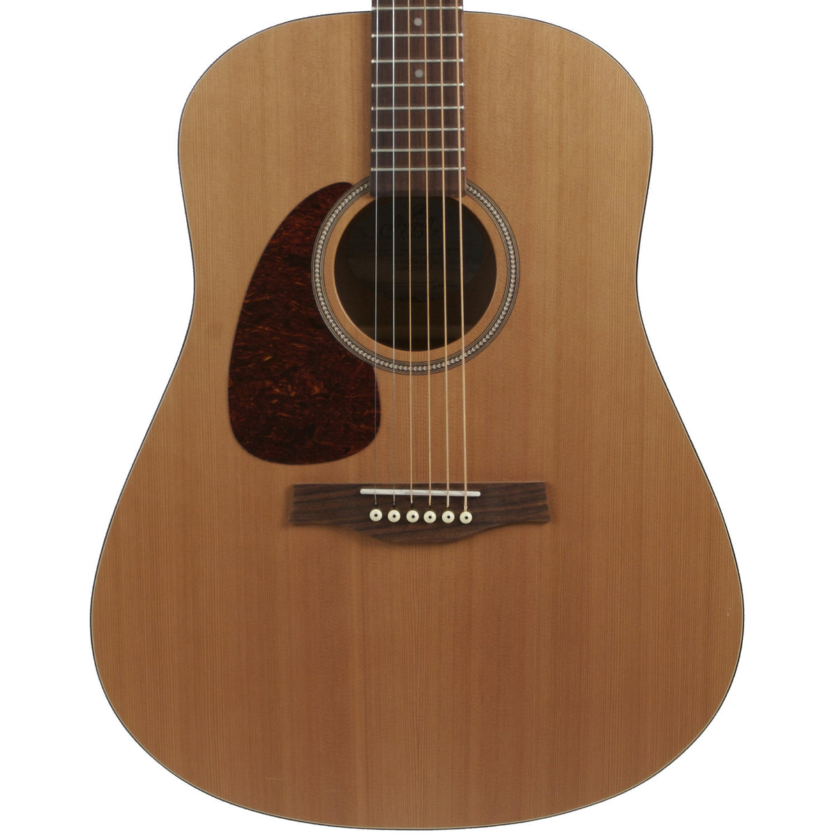2015 Seagull S-6 Lefty Natural - Garrett Park Guitars  - 2